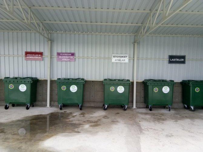 Meram'a 1. sınıf atık getirme merkezi kuruldu