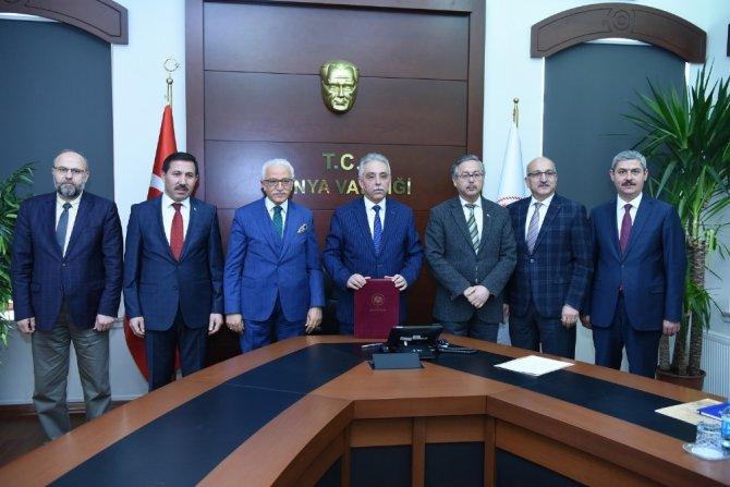 Karatay Eğitim Projesi'nin protokolü imzalandı