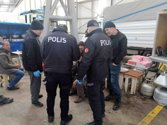 Aksaray'da polis ve zabıta 65 yaş üstü denetiminde