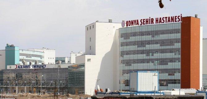 Konya Şehir Hastanesinde sona yaklaşılıyor