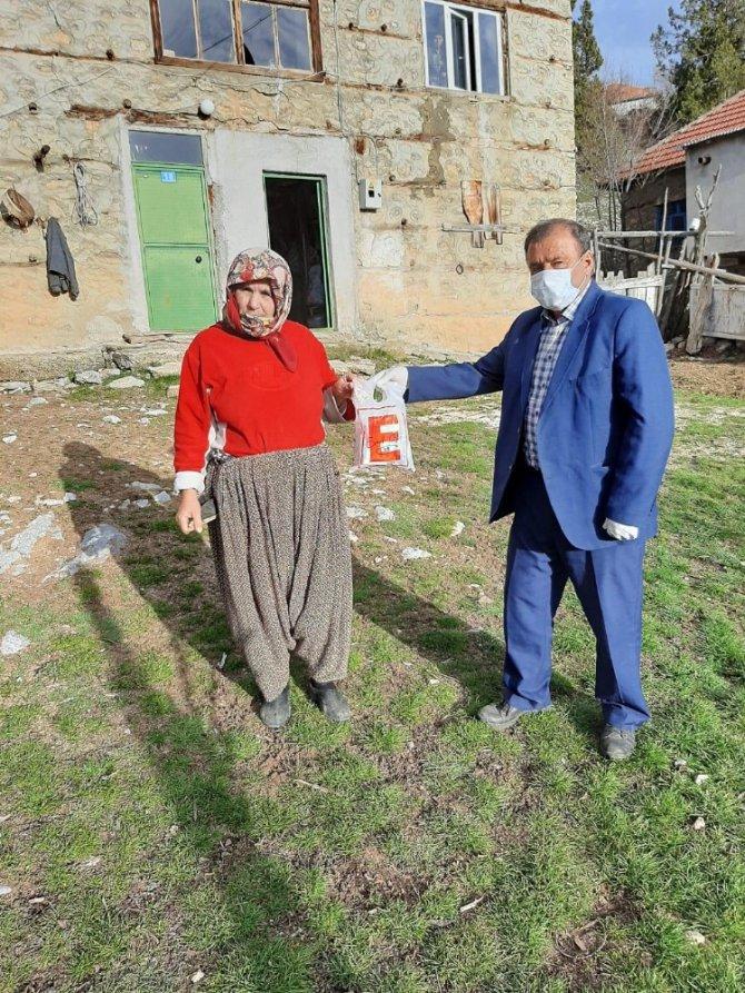Derebucak'ta sosyal destek grubu mesaisine başladı