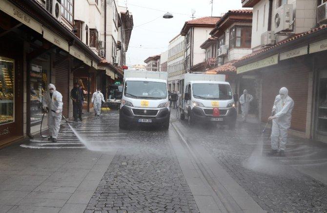 Konya Büyükşehirden dezenfeksiyon seferberliği