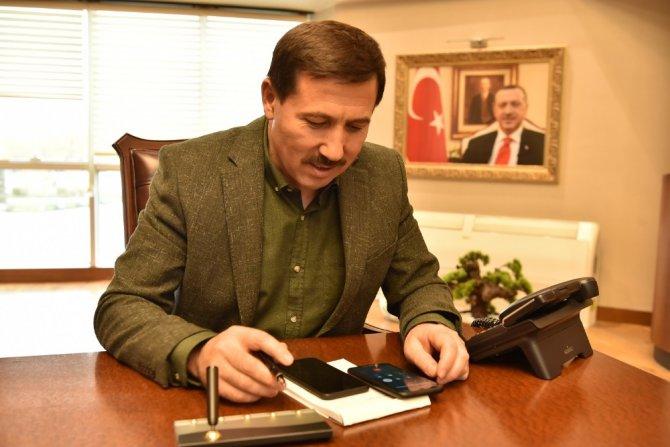 Başkan Kılca'dan şehit aileleri ve 65 yaş üstü vatandaşlara telefon