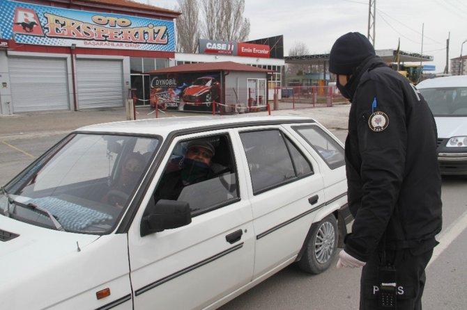 Beyşehir'de araçların giriş çıkışlarına izin verilmiyor