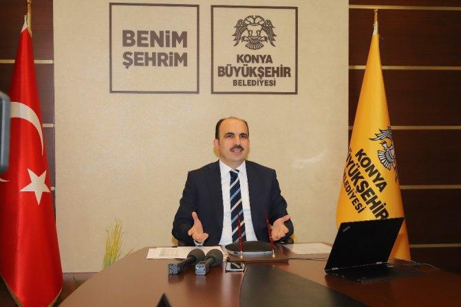 Başkan Altay video konferansla basın toplantısı düzenledi