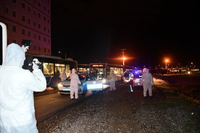 Katar'dan gelen 360 Türk vatandaşı Aksaray'da karantinaya alındı