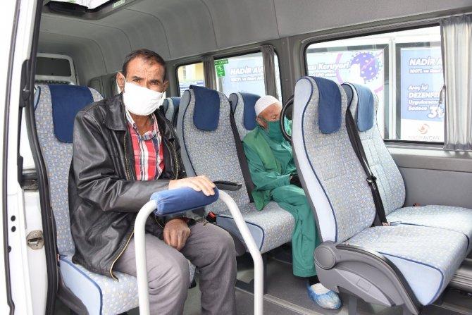 Diyaliz hastalarının ulaşım sorunu çözüldü