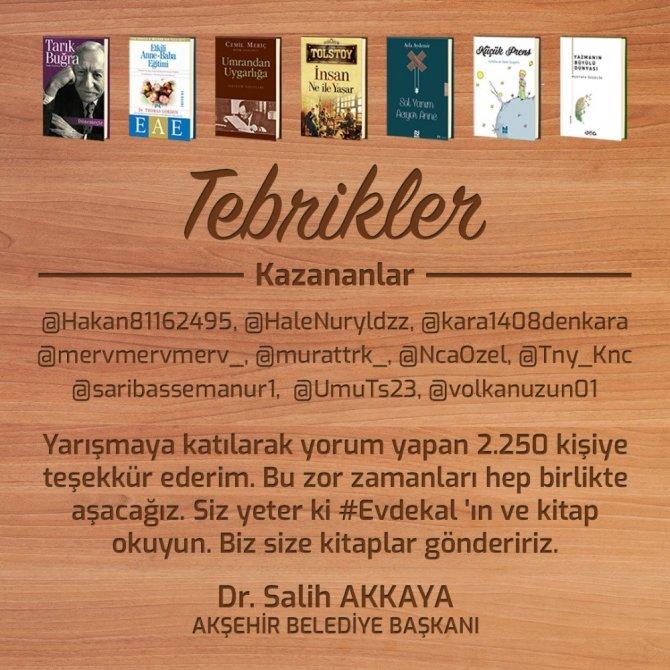 Akşehir Belediyesinden ödüllü yarışma