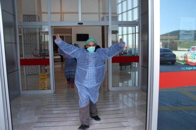 Korona virüsten iyileşen 5 hasta taburcu oldu