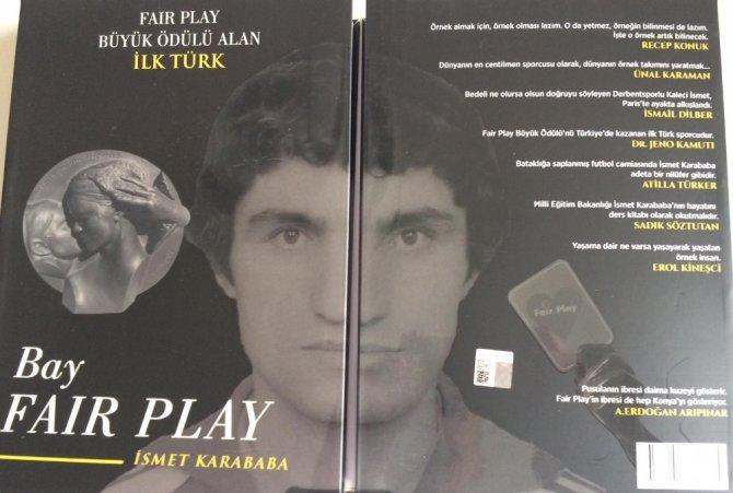Dünya Fair Play Ödülü alan ilk Türk'ün kitabı çıktı