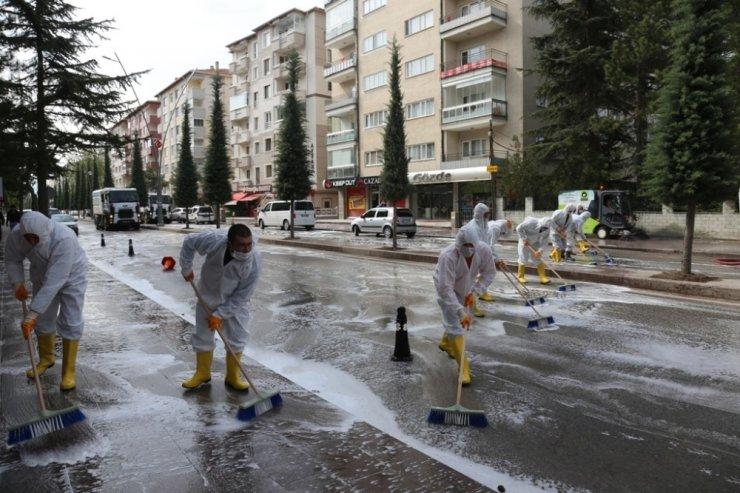 Ereğli cadde ve sokakları pırıl pırıl oldu
