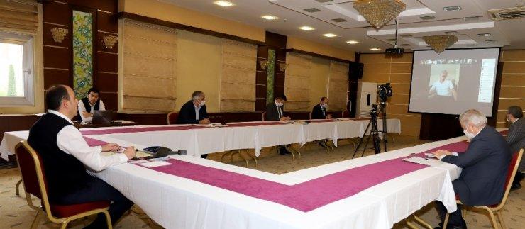 Başkan Altay esnaf odalarının başkanlarıyla toplantı yaptı