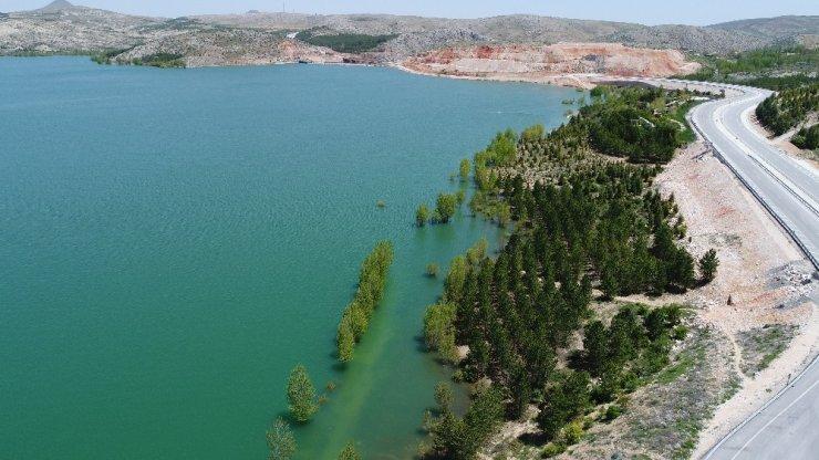 Konya'da barajlardaki doluluk oranı yüzde 80'i buldu