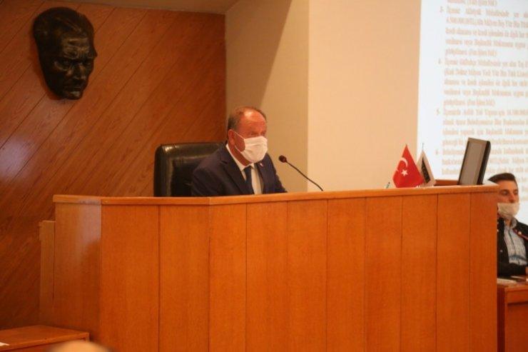 Ereğli'de Taş Evler projesi belediye meclisine takıldı