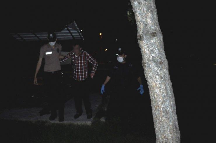 Konya'da mezarlıkta cinayet ihbarı polisi harekete geçirdi