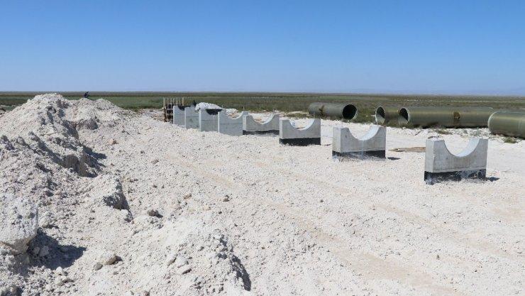 Aksaraylı hayvan üreticilerinin meralarda tuzlu su endişesi