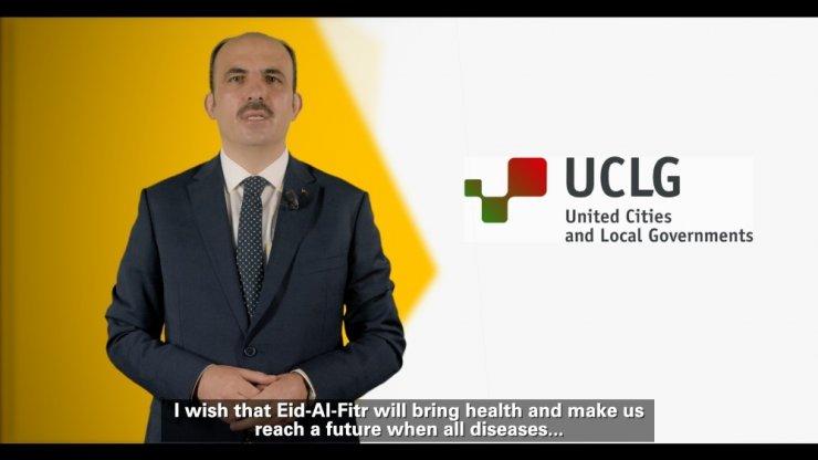 ECLG Eş Başkanı ve TDBB Başkanı Altay'dan dünya belediyelerine bayram mesajı