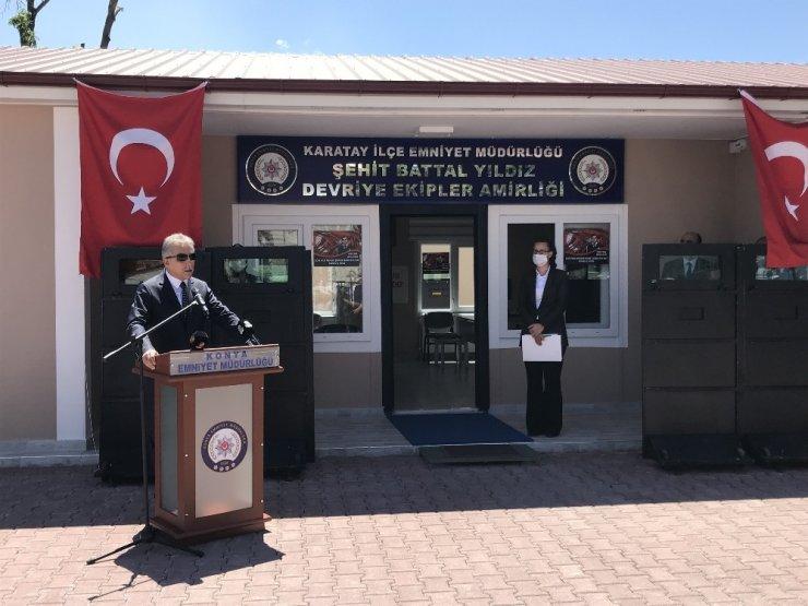 Şehit Polis Battal Yıldız'ın ismi Devriye Ekipler Amirliği binasında yaşatılacak