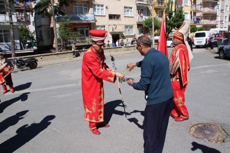 Akşehir'de mehterli kutlama
