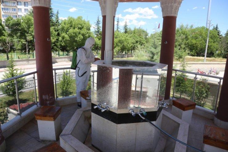Ereğli Belediyesi camileri dezenfekte etti
