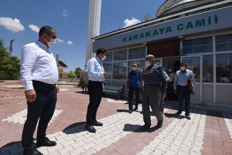 Başkan Kılca, mahalle ziyaretinde vatandaşlarla buluştu