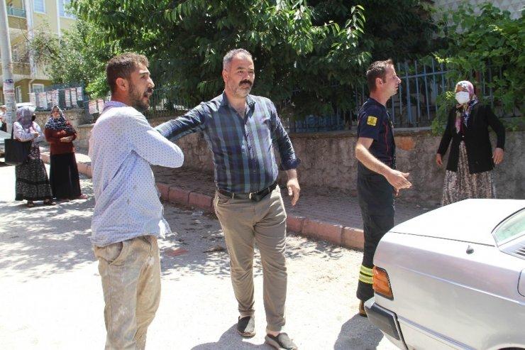 Konya'da bir evde çıkan yangın paniğe neden oldu