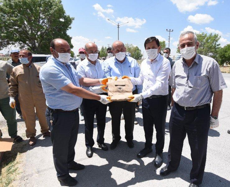 Karatay'da 32 mahalleye zirai ambalaj toplama noktası oluşturuldu