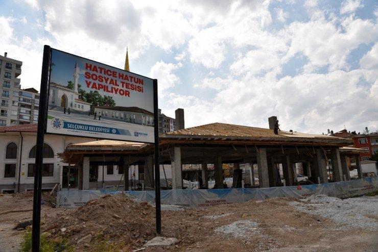 Selçuklu Belediyesi ilçeye yeni bir tesis daha kazandırıyor