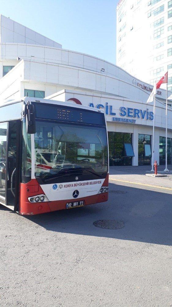 Konya'da sağlıkçılara ücretsiz ulaşım ve otopark'ta süre uzatıldı