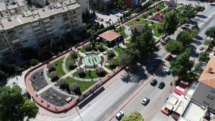 Melikşah Parkı yenilendi