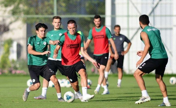Konyaspor, Trabzonspor'a hazırlanıyor