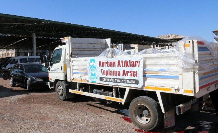 Aksaray Belediyesi Kurban Bayramı hazırlıklarını tamamladı