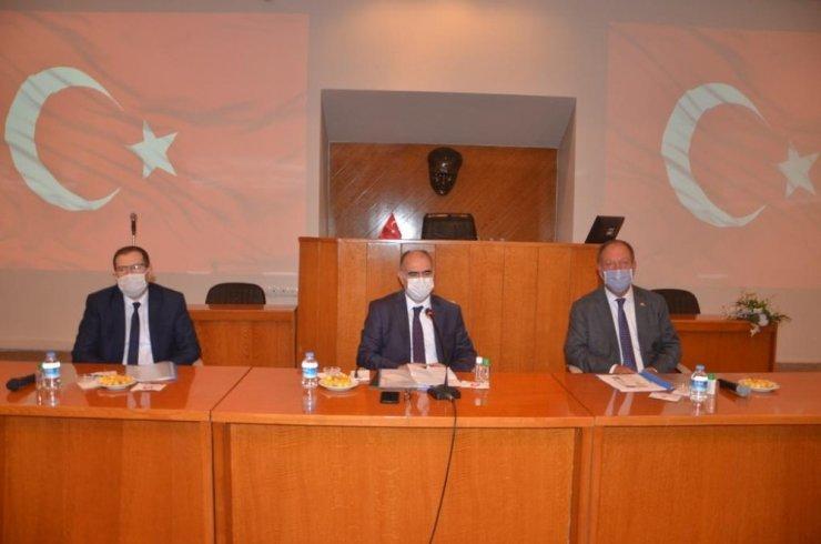 Konya Valisi Özkan Ereğli'yi ziyaret etti