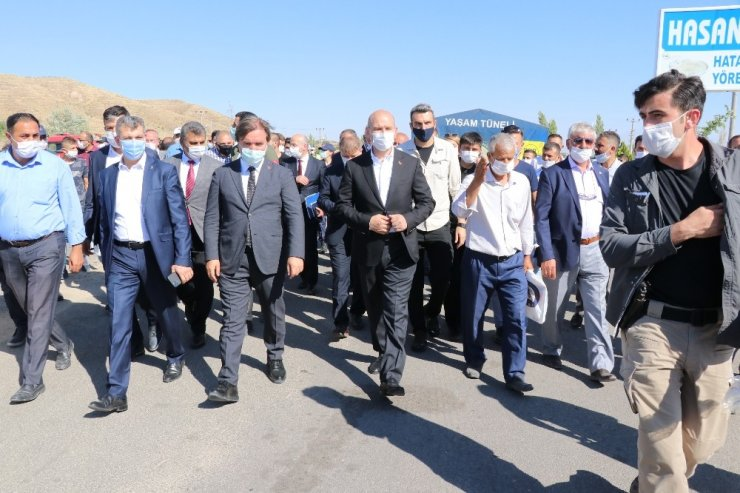 """İçişleri Bakanı Soylu: """"163 bin personelimiz bayramın sonuna kadar görev yapacak"""""""