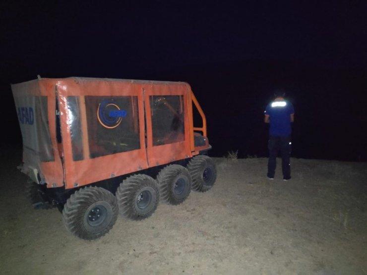 Kayıp kuzuları AFAD ekipleri buldu