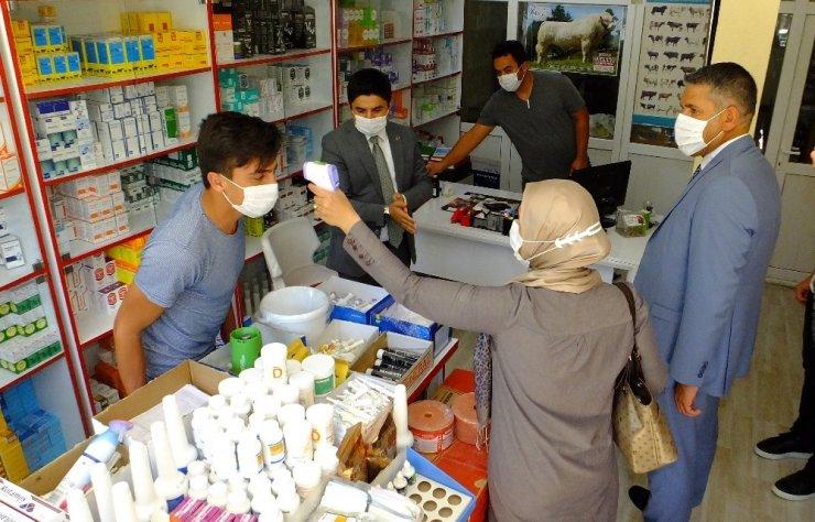 Aksaray'da korona virüs denetimleri