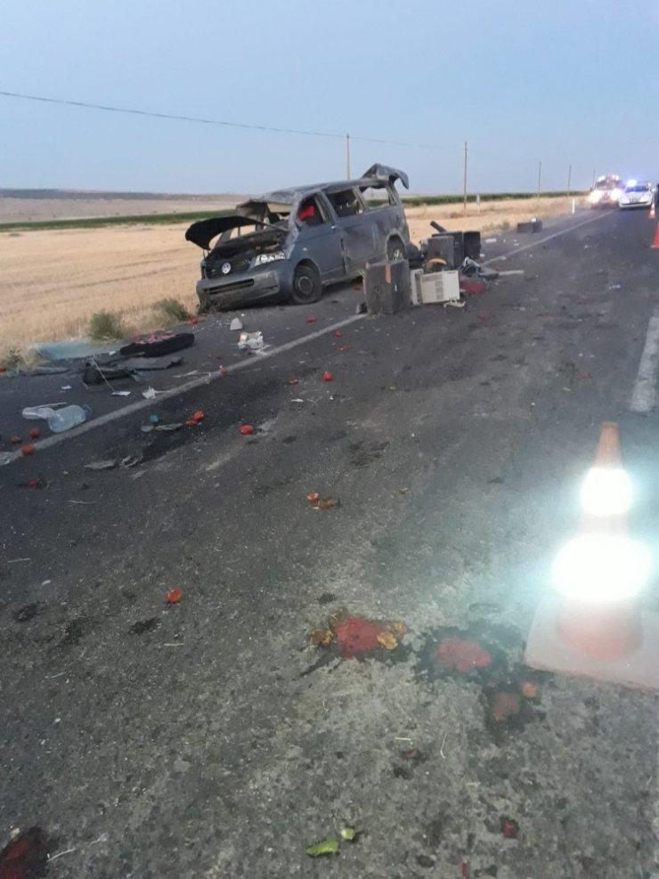 Konya'da düğün dönüşü kaza: 3 yaralı