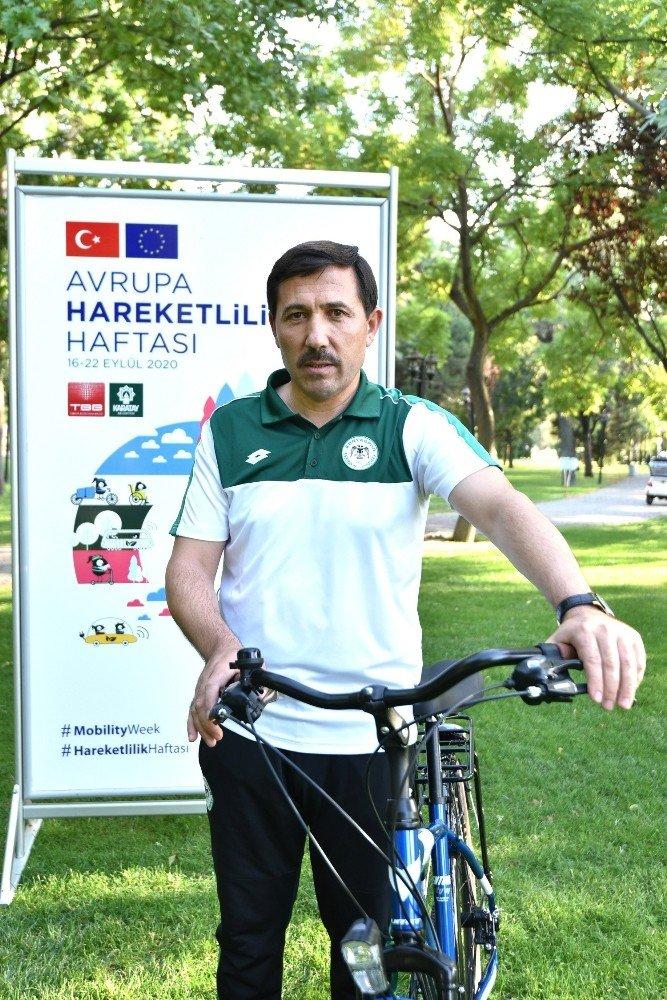 Başkan Kılca, Avrupa Hareketlilik Haftası'nda pedal çevirdi
