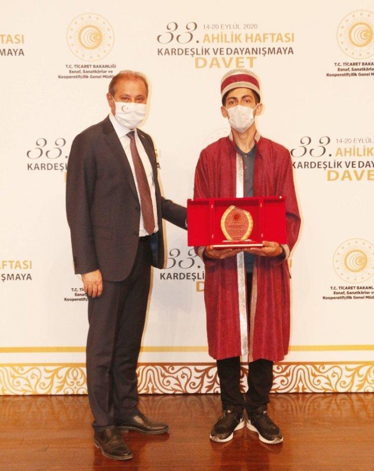 Yılın Türkiye Ahi Çırağı yine Konya'dan
