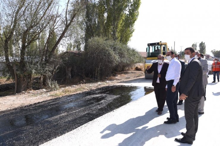 Başkan Altay Çeltik'i ziyaret etti