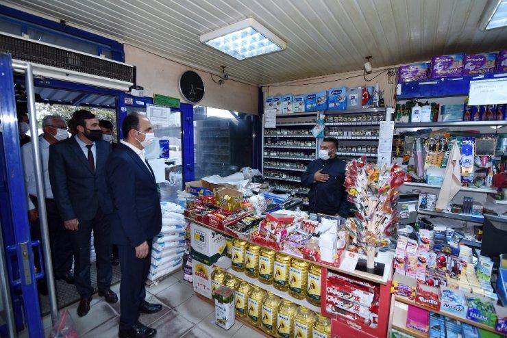 Başkan Altay, Yunak ve Tuzlukçu'da incelemelerde bulundu