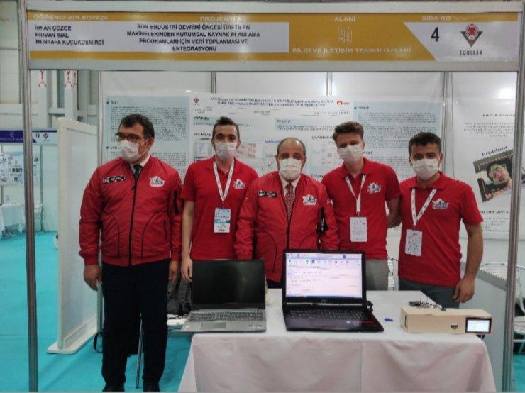 Konya Gıda ve Tarım Üniversitesi öğrencileri TEKNOFEST'te birinci oldu