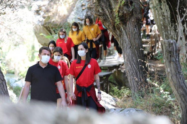 Galatasaray Kadın Voleybol Takımı, Ihlara Vadisi'nde