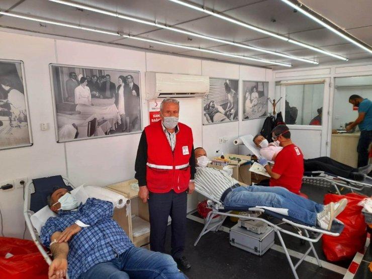 Kulu'da Kızılay 3 günde 274 ünite kan aldı