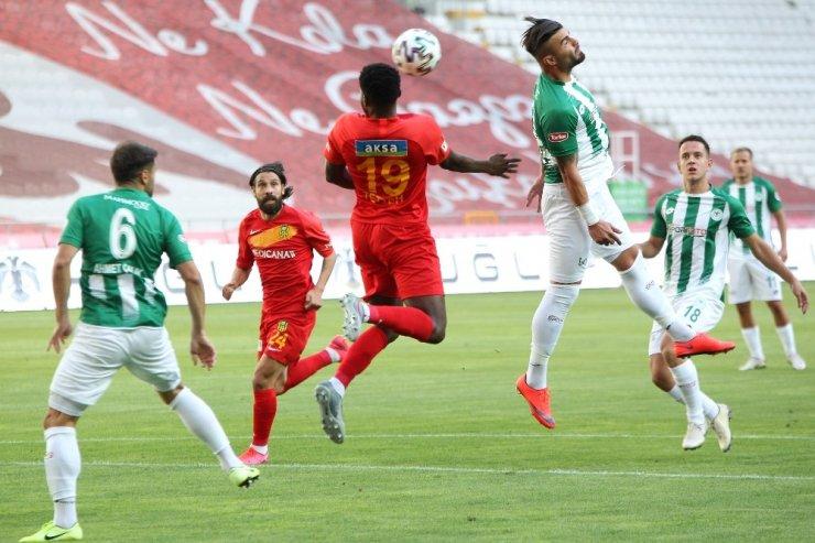 Süper Lig: Konyaspor: 0 - Yeni Malatyaspor: 0 (İlk yarı)