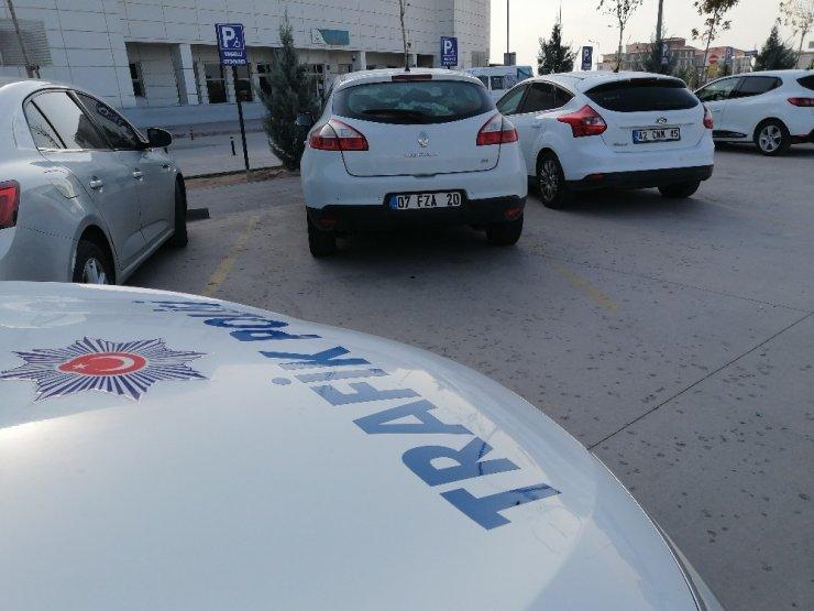 Engelli park yerine park eden sürücülere ceza