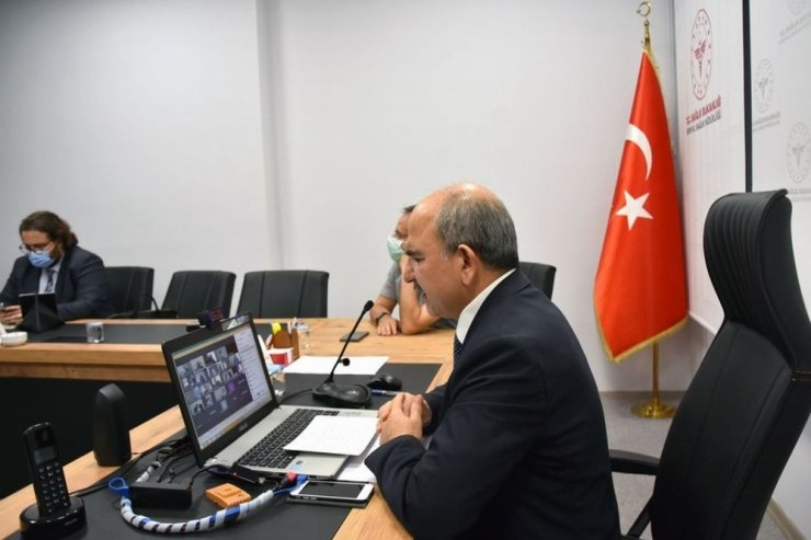 Konya'da risk grubundaki Covid-19 vakalarına yakın takip