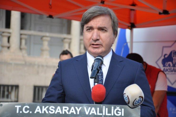 Aksaray'da 29 Ekim kutlandı