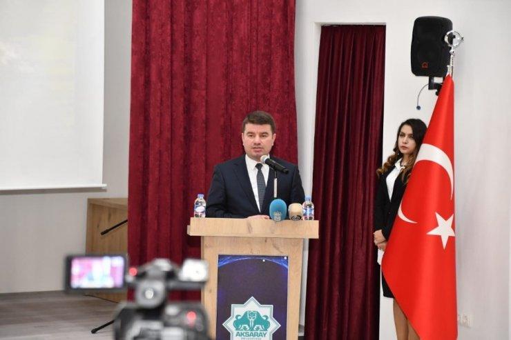 Aksaray'da 3 Aralık Dünya Engelliler Gününde engelli koordinasyon merkezi açıldı
