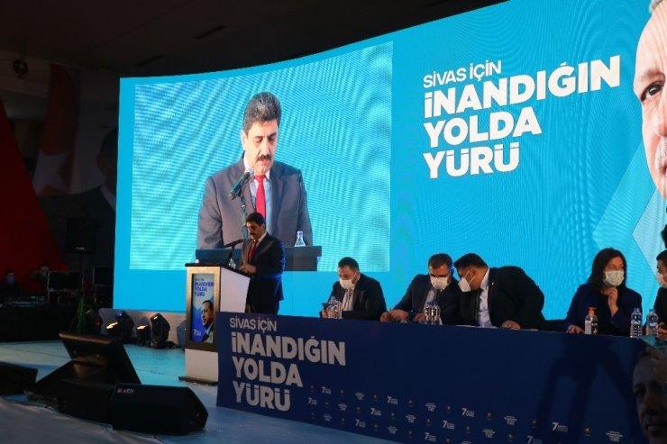 AK Parti Sivas 7. Olağan İl Kongresi gerçekleştirildi